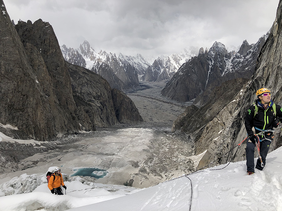 Alpinismo esplorativo nella Esplorando la Kondus Valley in Pakistan