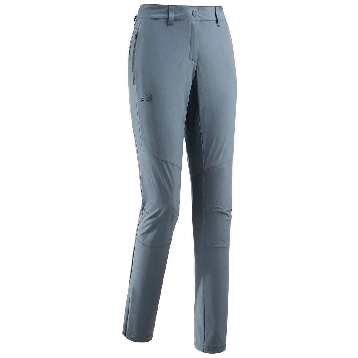 Trekking pants LD Onega Stretch Pant by Millet designed for the casual mountaineer and built for hiking and active trekking.