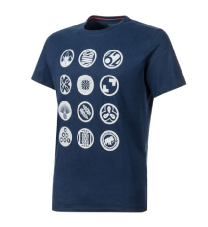 Mammut climbing T-shirt Massone: a lightweight climbing T-shirt. Organic cotton creates a natural feel.