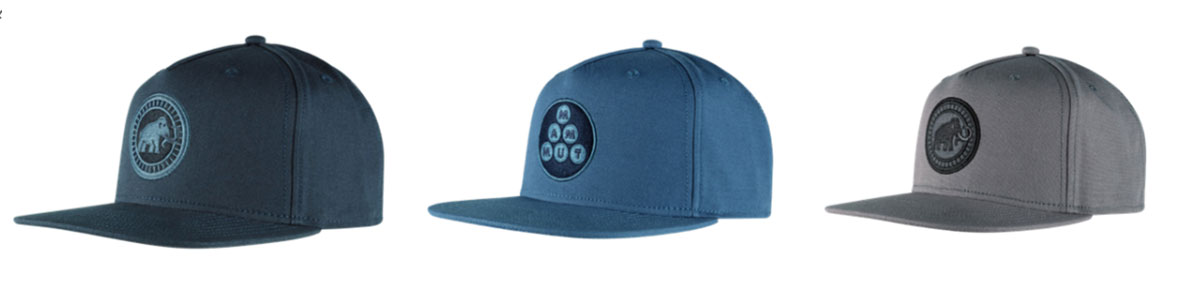 The Mammut Massone Cap coordinates with the Massone T-Shirt Men and is made from organic cotton.