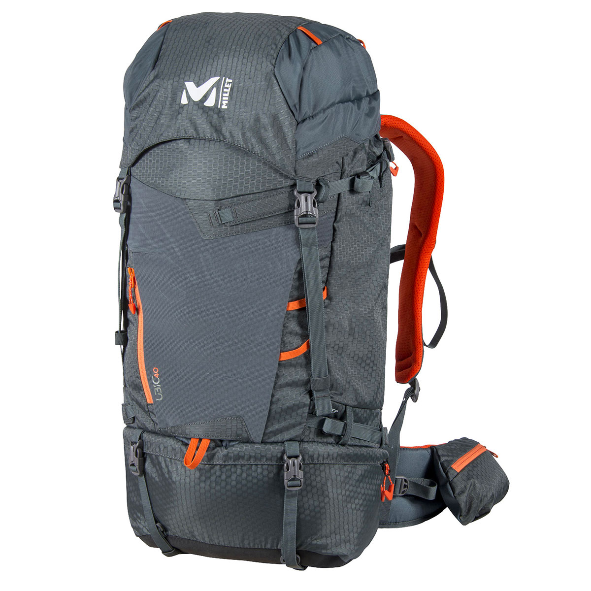 Zaino escursionismo Millet Ubic 40, ideale per svariate attività in montagna e per le gite di più giorni che richiedono un'attrezzatura specifica.
