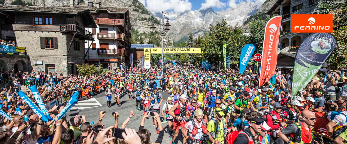 10 Giant years: Ferrino always protagonist at Tor des Géants, the hardest endurance trail in the world located in Valle D'Aosta, Italy