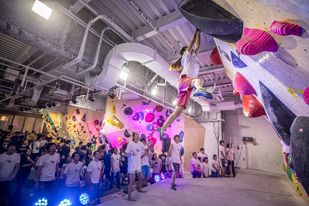 La Sportiva celebrates Olympic convocation of its athletes at the Climb Tokyo event, in the run-up to the summer Olympic Games in Tokyo 2020.