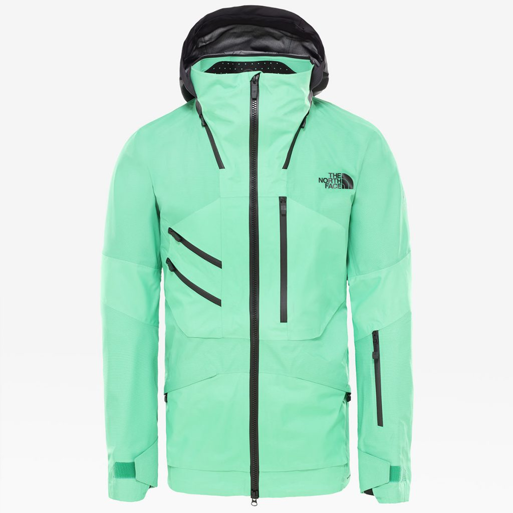 The Brigandine FUTURELIGHT™ snowboarding jacket by The North Face provides the highest level of durable, breathable and waterproof protection.