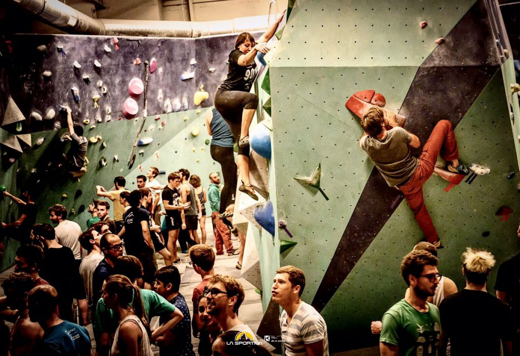 La Sportiva Climb-in-GYM Tour is back with 70+ stages in the most beautiful climbing gyms in Europe. Test the best climbing shoes in the La Spo collection.