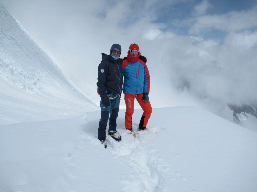Gli alpinisti Millet Francesco Ratti e Marco Camandona in Nepal