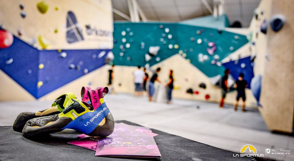 This year on Tour there will be free to test, three new entries of the 2019 La Sportiva climbing shoe collection  © Rémi Fabregue