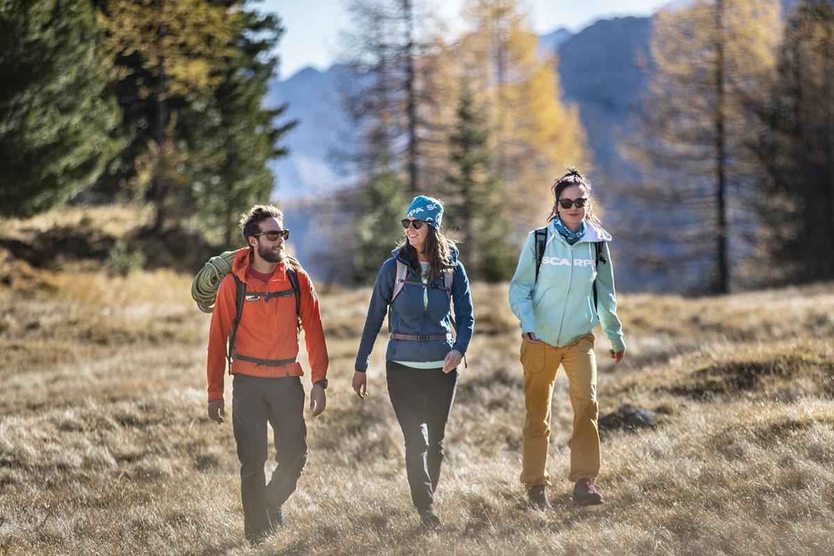 Il Women's Trail di SCARPA® si inserisce, infatti, nel programma di Delicious Festival Dolomiti e ne rafforza lo spirito originario legato allo sport e all'enogastronomia locale.