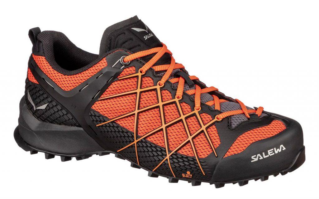 Salewa Wildfire: scarpe da avvicinamento comode, per gli avvicinamenti veloci in montagna, passaggi tecnici e vie classiche