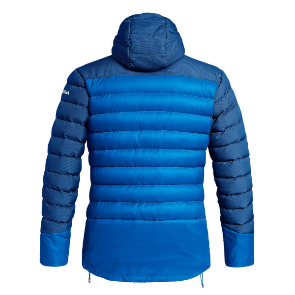 Mens Down Jacket Salewa Ortles Medium 2, a warm, water-repellent, wind-resistant and versatile jacket that excels in alpine mountaineering and ice climbing.