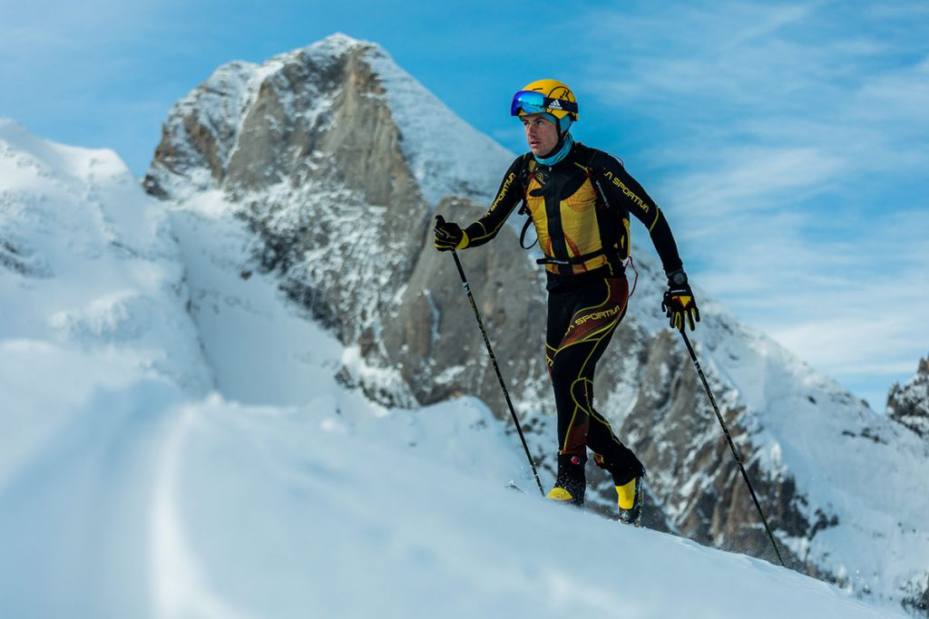 Michele Boscacci and ski mountaineering: a passion that passes from father to son © Matteo Pavana