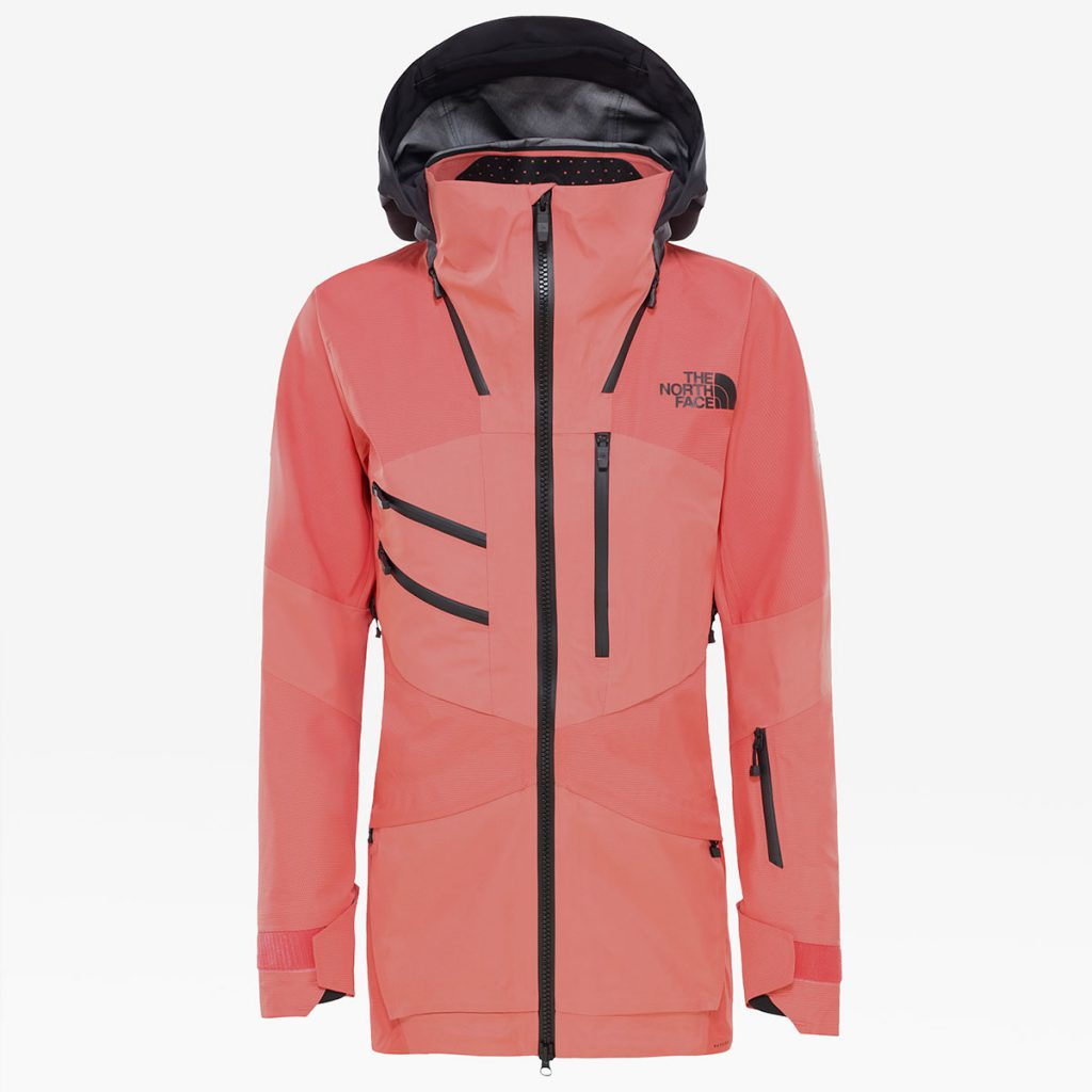 The Women's Brigandine Futurelight freeride jacket by The North Face provides the highest level of durable, breathable and waterproof protection.