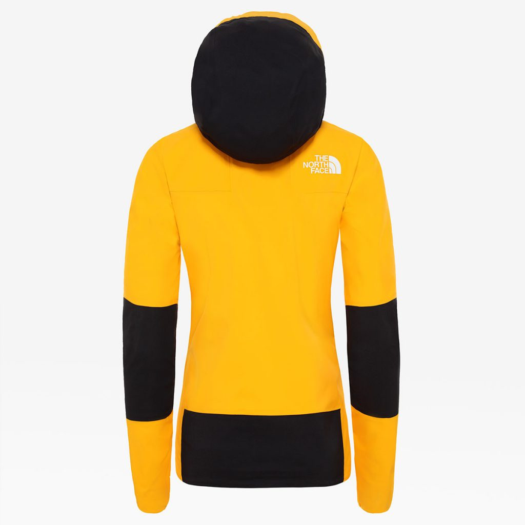 Women's Summit L5 Futurelight mountaineering jacket by The North Face with the highest level of durable, breathable and waterproof protection.