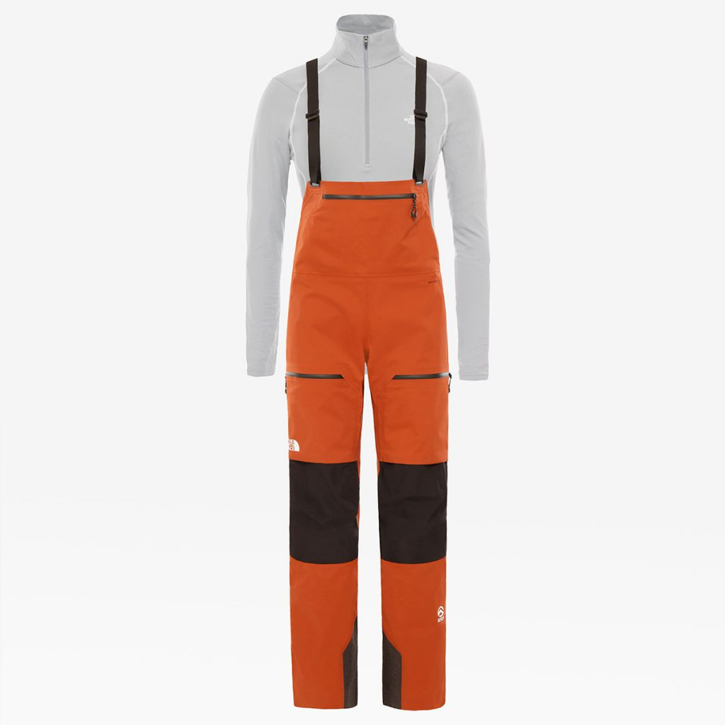 Women's Ski Pants Summit L5 Full Zip Bib in Futurelight by The North Face provide the highest level of durable, breathable and waterproof protection.