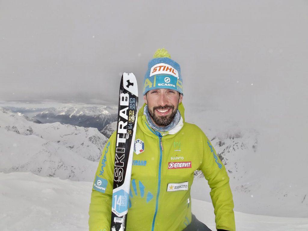 Tra gli atleti di SCARPA, che vestiranno la maglia azzurra della Nazionale di Scialpinismo, c'è anche Robert Antonioli