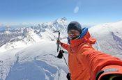 Simon Messner, il figlio ventottenne di Reinhold Messner, è il più recente acquisto del team Salewa.