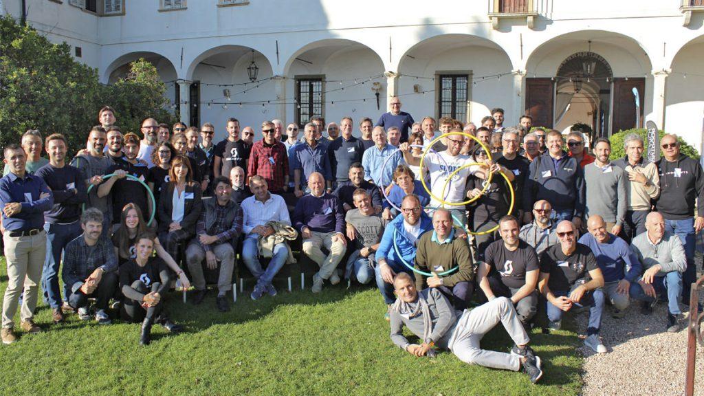 Scott Italia riunisce la propria forza vendita dei marchi del gruppo SCOTT Sports per due giorni al Castello degli Angeli di Carobbio (BG)