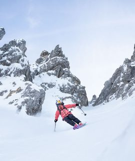 Arianna Tricomi, sciatrice freestyle due volte campionessa mondiale nel circuito del Freeride World Tour, entra a far parte del Global Athlete Team di The North Face.