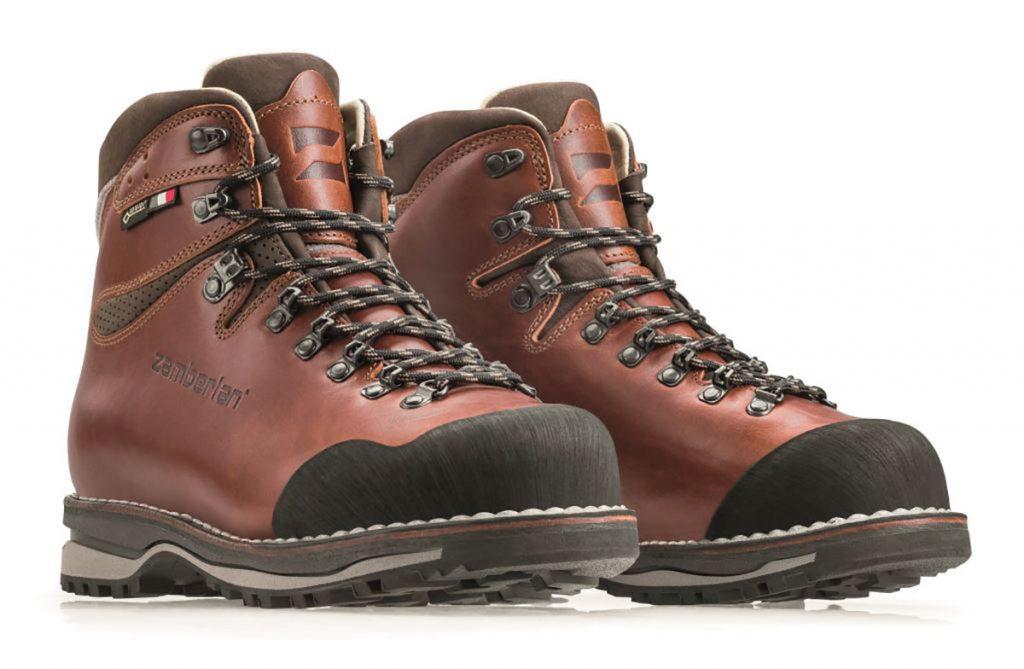 Scarpe da trekking uomo Tofane NW GTX RR di Zamberlan in pelle realizzata secondo la tecnica di costruzione norvegese per una durata eccezionale.
