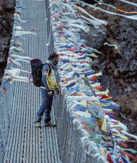 Un'inarrestabile Alex Txikon sta collezionando diverse scalate invernali nelle terre più remote del mondo supportato da Ferrino per zaini, tende e materiale da campo.