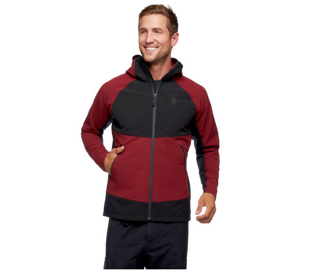 Black Diamond Element Hoody for climbing and skiing