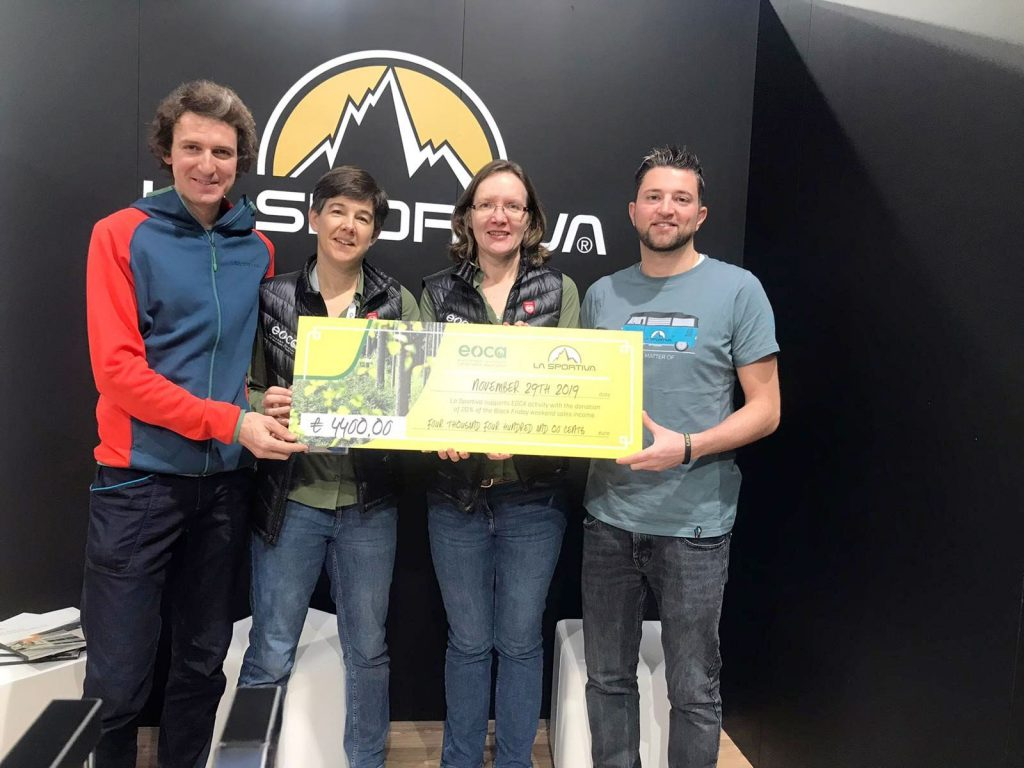 For the third year in a row La Sportiva, the Italian technical footwear, clothing and accessories brand, has used its sales during the 'Black Friday' weekend to support nature conservation.
