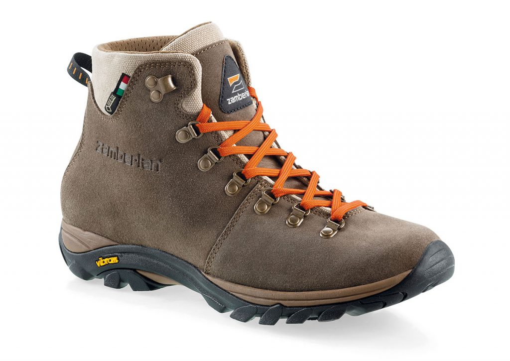 Lightweight hiking boots Romea Strata GTX by Zamberlan, developed for hiking across different types of terrains in variable weather conditions.