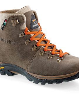 Scarpe trekking Romea Strata GTX di Zamberlan, studiate per i cammini leggendari: tomaia realizzata con pregiati pellami italiani con fodera Gore-Tex