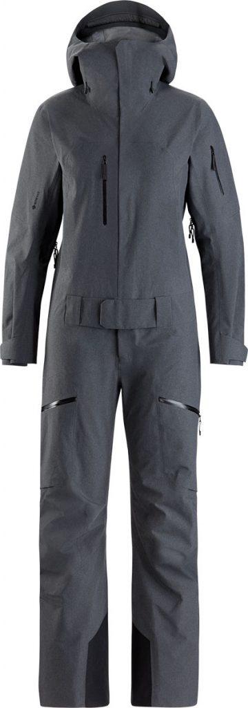 Tuta da sci donna, salopette e giacca Incendia Capsule di Arc'teryx. Impermeabile, antivento e traspirante, ideal anche per lo snowboard.
