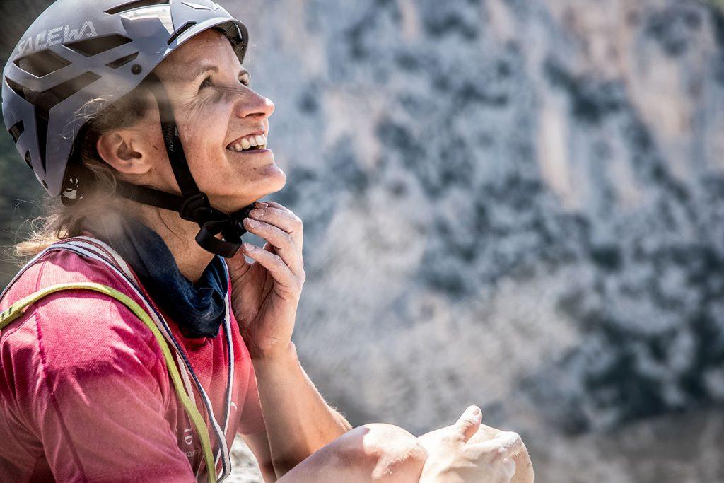 La 31enne climber austriaca Anna Stöhr