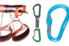 Fai come Stefano Ghisolfi: scegli l'innovazione di C.A.M.P con il moschettone Atom Lock, l'imbragatura Impulse e il moschettone a ghiera Atom Lock.