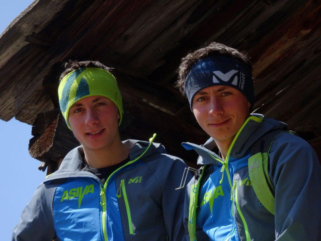 Sébastien Guichardaz e Fabien Guichardaz entrano nel team Millet. Vent'anni, curriculum promettente e spirito decisamente RISE UP.