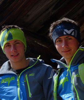 Vent'anni, curriculum promettente e spirito decisamente RISE UP: Sébastien Guichardaz e Fabien Guichardaz entrano nel team Millet