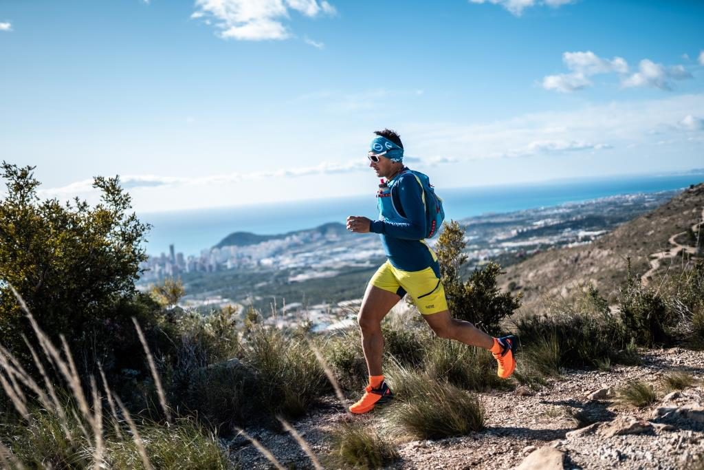 Daniel Jung, atleta di trail running del team SCARPA® vive a Naturno in Val Venosta