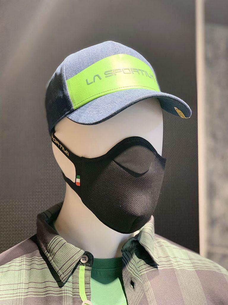 La Sportiva presenta Stratos Mask, la prima mascherina igienica per lo sport