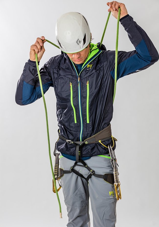 Rock climbing pants Karpos K-Performance Mountaineering Pant, summer mountaineering trousers for use on both rock and snow.