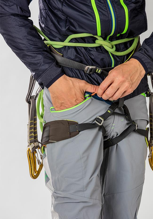Pantaloni alpinismo Karpos K-Performance Mountaineering Pant, da utilizzare in alpinismo estivo sia su roccia che su neve