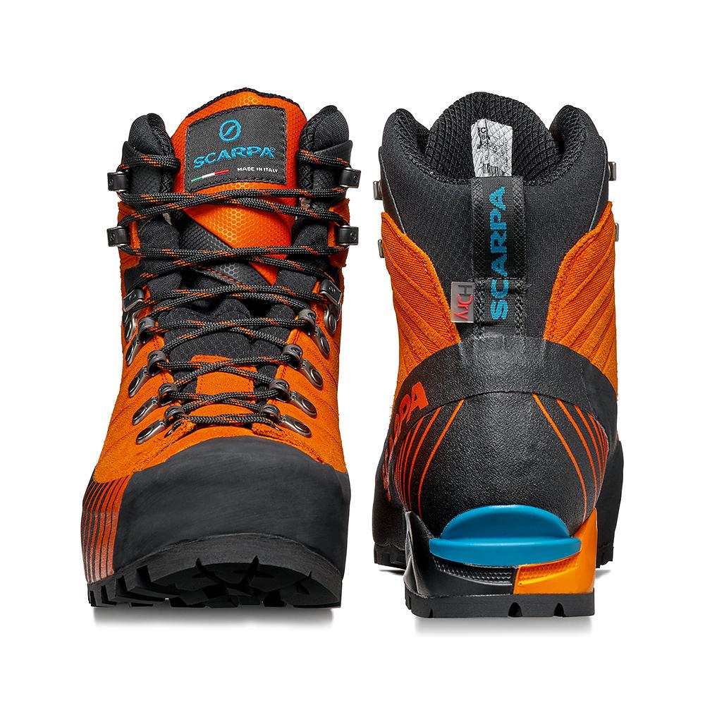 Scarpone leggero, veloce per alpinismo, vie ferrate e backpacking impegnativi anche con carichi pesanti.