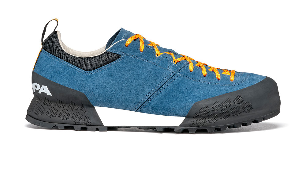 Kalipè by SCARPA: approach shoes designed for prolonged use, versatile and ideal for rocky terrain.