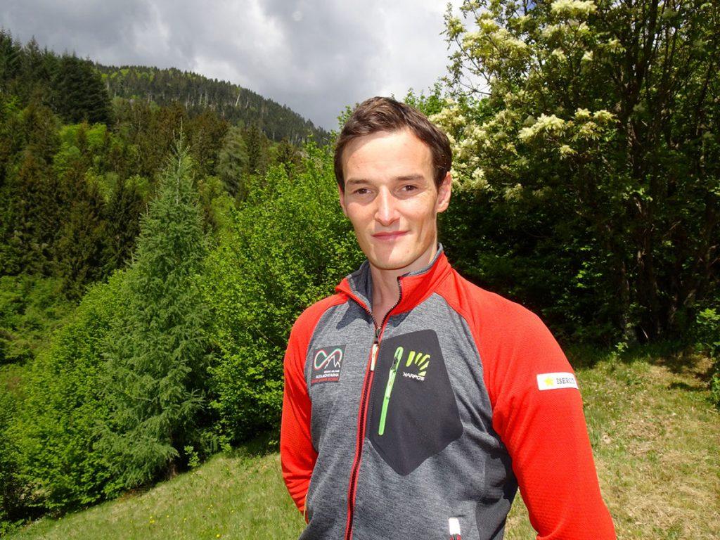 Il 28enne climber Alessandro Zeni