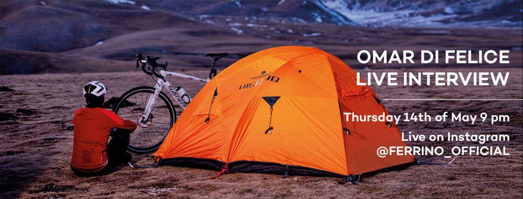 Da poco rientrato dalla Mongolia dove ha attraversato il deserto del Gobi, Omar di Felice racconta la sua avventura in diretta sul canale Instagram Ferrino giovedì 14 maggio 2020 ore 21.