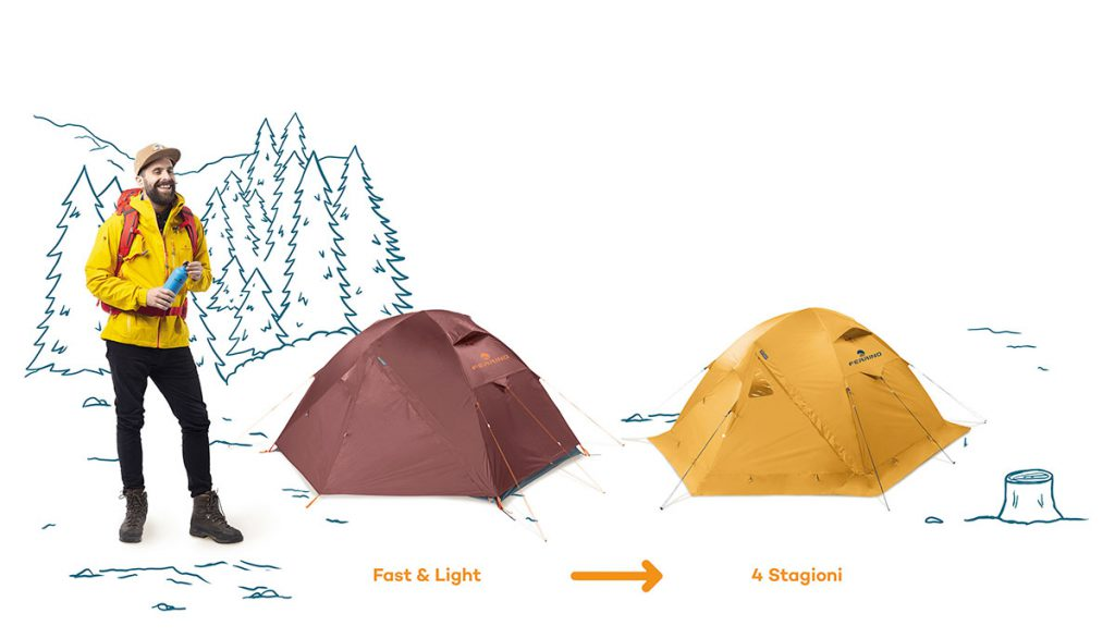 Ferrino Tent Set: The perfect tent for any adventure!