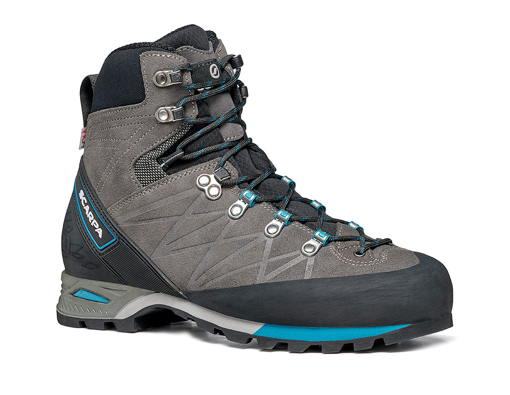 Mountain walking boots SCARPA Marmolada Pro HD for alpine hikes, via ferratas and backpacking.