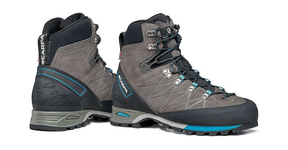 Mountain hiking boots SCARPA Marmolada Pro HD for alpine hikes, via ferratas and backpacking.