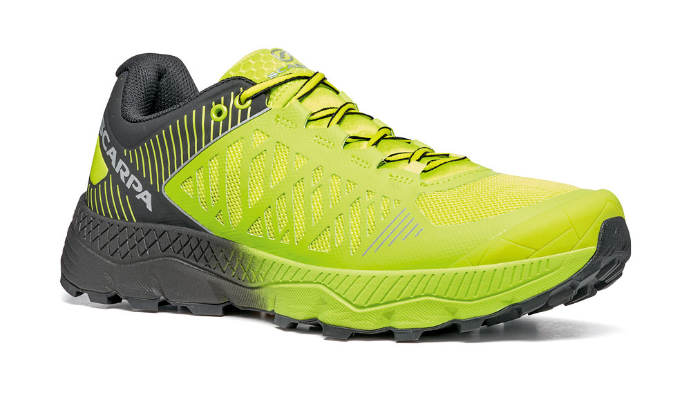 Trail running shoes SCARPA Spin Ultra: outstanding fit, precise fastening, exceptional responsiveness and a high level of cushioning