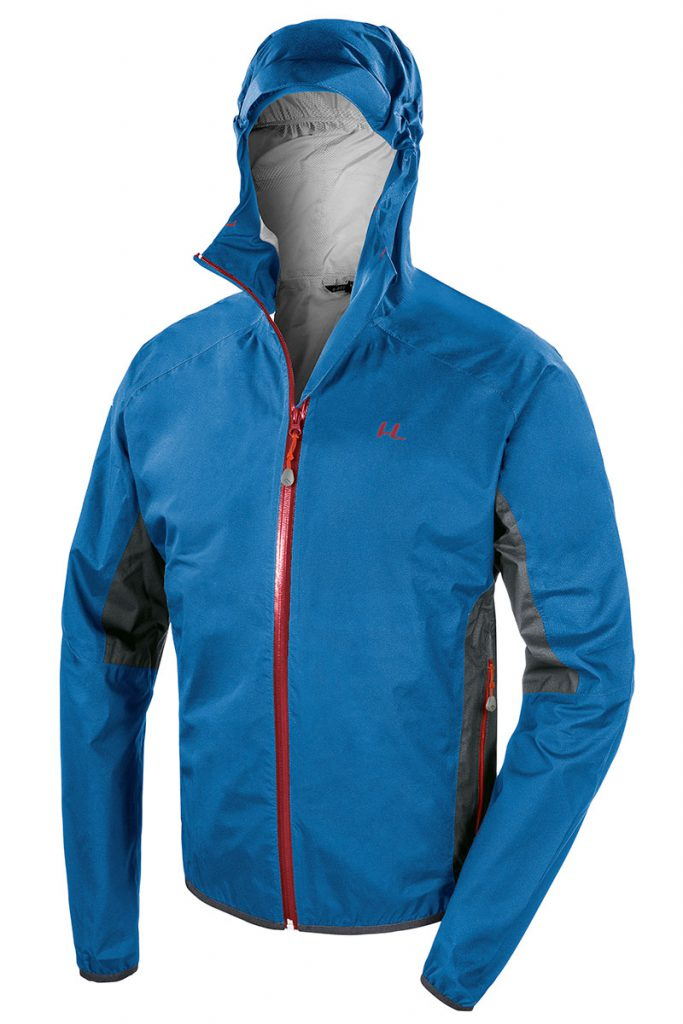 Ultralight trail running jacket Ferrino Kunene Jacket made in breathable, waterproof, 2.5  layer fabric ideal for intensive aerobic activities.
