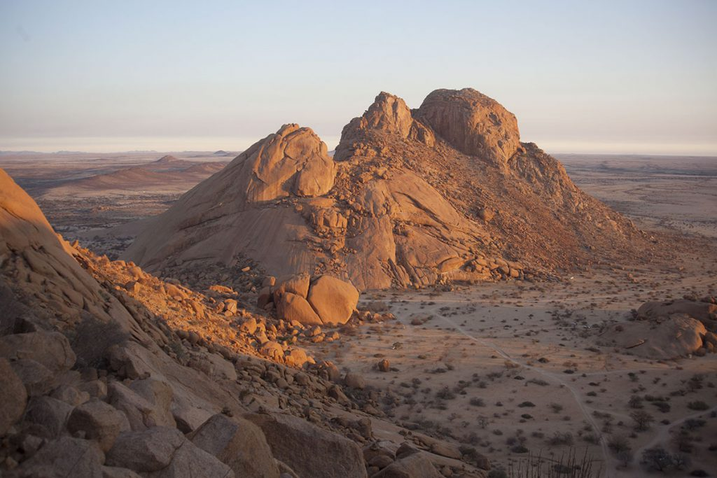 Spitzkoppe in Namibia