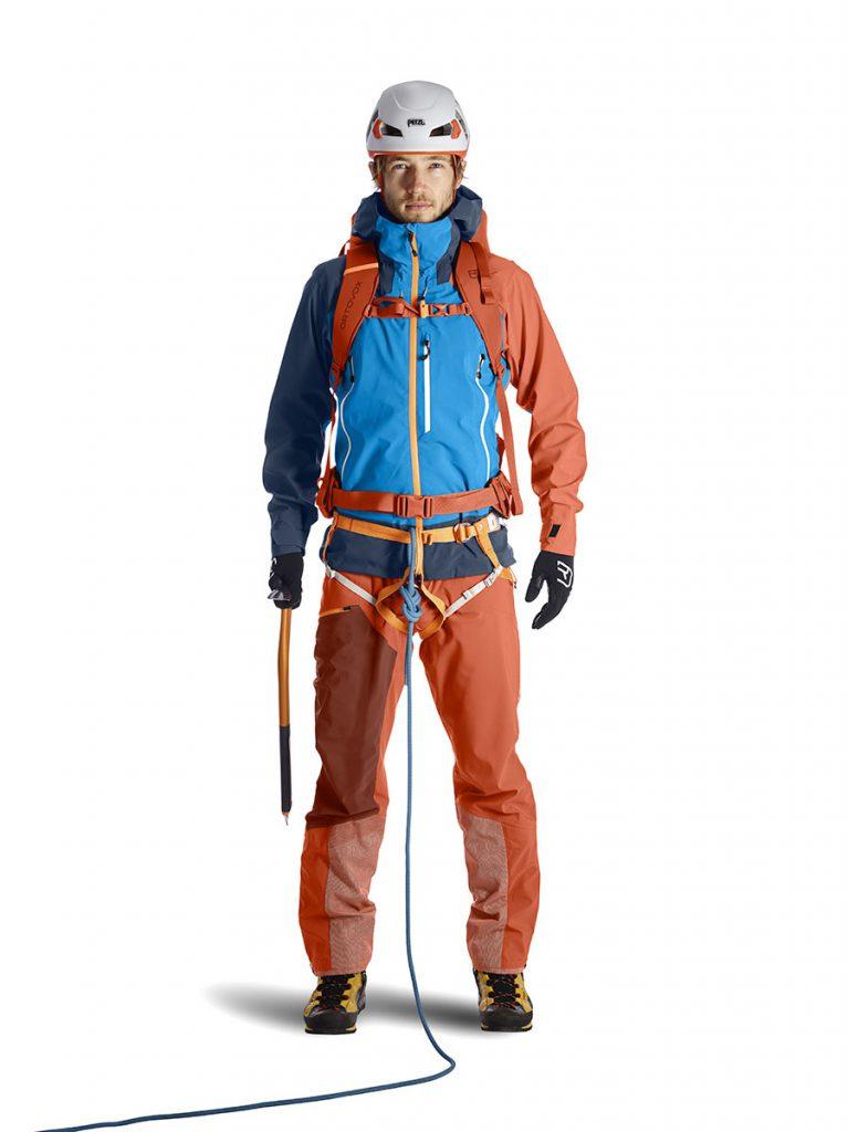 La nuova linea di abbigliamento alpinismo di Ortovox Westalpen 3L: uno strato di protezione per l'alta montagna