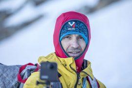 L'atleta Millet Sergi Mingote arriva oggi a Cortina D'Ampezzo nell'ambito del suo progetto Olympic Route: 7200 chilometri in bici, attraverso 10 paesi che vede l'atleta raggiungere in 60 giorni 14 vette tra le più iconiche del nostro continente.