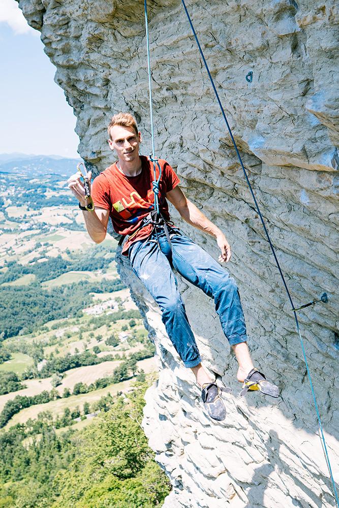 Intervista a Ludovico Fossali, classe 1997 e il primo climber italiano a a conquistare un posto ai Giochi Olimpici di Tokyo. © Giovanni Danieli
